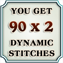 Dynamic Stitches Vol. 2 2D Graphics Merchant Resources boundless