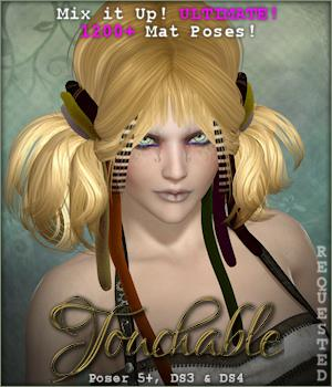 Touchable Dreadful Tales Hair Themed -Wolfie-