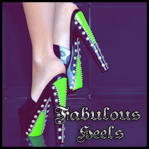 Fabulous Heels 3D Figure Essentials SynfulMindz