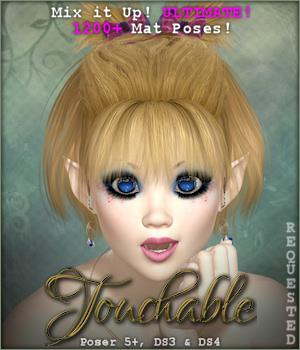 Touchable Filippa Hair Themed -Wolfie-