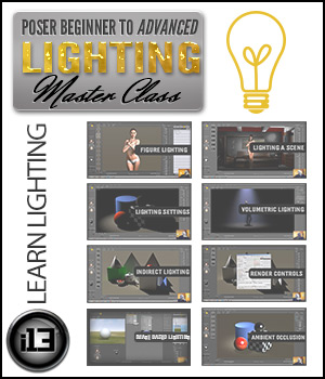 PBTA Lighting Master Class Tutorials : Learn 3D ironman13