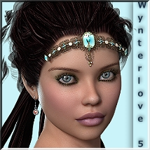 AM: Wynterlove 5 3D Figure Essentials Angelmoon