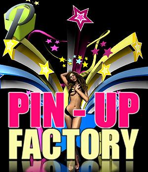 Pin-Up Factory Themed Props/Scenes/Architecture Poses/Expressions powerage