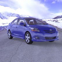 Toyota Yaris (for Poser and Vue) 3D Models Digimation_ModelBank