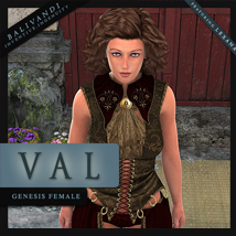 Val for Genesis 3D Figure Essentials Balivandi