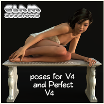 Glam Sessions poses 3D Figure Essentials 3D Models Navi