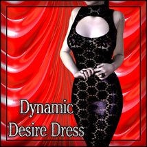 Dynamic Desire Dress 3D Figure Essentials SynfulMindz