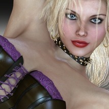 Damages 5 - Naughty Girl 3D Figure Assets 3D Models nirvy