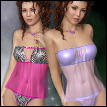 Private Moments: Sweetheart II Clothing Software Themed 3-DArena