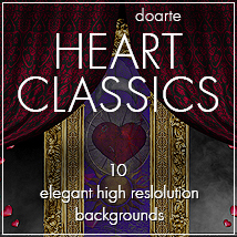 doarte HEART CLASSICS Themed 2D And/Or Merchant Resources doarte