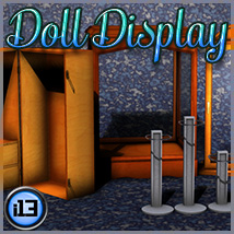 i13 Doll Display 3D Models ironman13