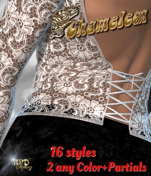 Sexy Top IX - Chameleon 3D Models 3D Figure Essentials renapd
