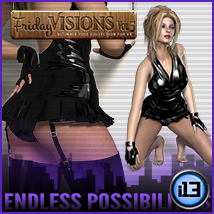 i13 Friday Visions Vol5 Poses/Expressions Themed Software ironman13