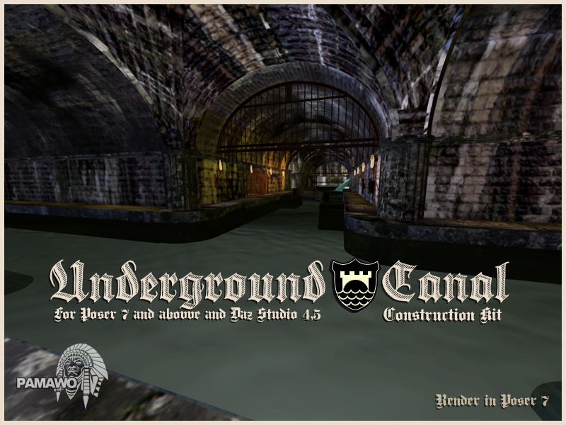 Underground Canal Construction Kit by pamawo