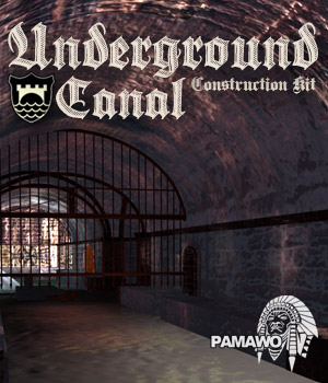 Underground Canal Construction Kit 3D Models pamawo