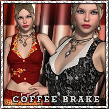 Coffee Brake 3D Figure Essentials sandra_bonello