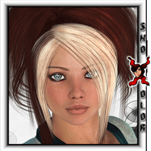 ShoXoloR for Sienna Hair 3D Figure Essentials ShoxDesign