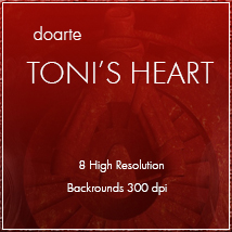 doarte TONI'S HEART Themed 2D And/Or Merchant Resources doarte