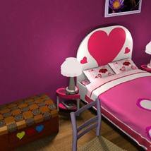 Valentine's Bedroom image 1