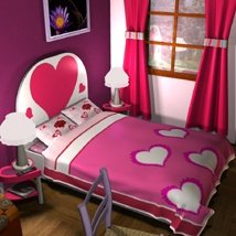Valentine's Bedroom image 3