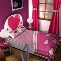 Valentine's Bedroom image 4
