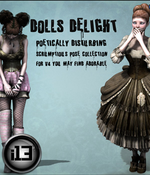 i13 Dolls Delight 3D Models 3D Figure Assets ironman13