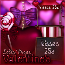 Lotsa Props - Valentine's Edition Themed Props/Scenes/Architecture Software Sveva