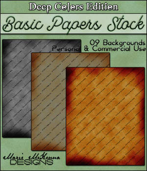 Colorful Papers Stock | Deep Colors Edition 2D And/Or Merchant Resources Themed OriginalDoll84