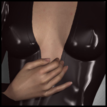 Sexy Skinz - Latex Bodysuits 02 3D Figure Essentials 3D Models vyktohria
