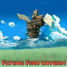 Flying Fish tavern Transportation Props/Scenes/Architecture 1971s