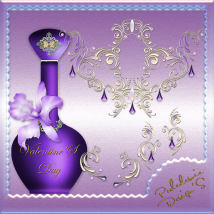 Bijoux et Parfums de la St Valentin Themed 2D And/Or Merchant Resources Perledesoie