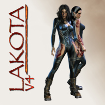 Lakota 3D Figure Assets shaft73