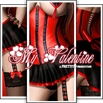 My Valentine 3D Models 3D Figure Essentials Pretty3D