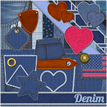 Digital Denim 2D Graphics Atenais
