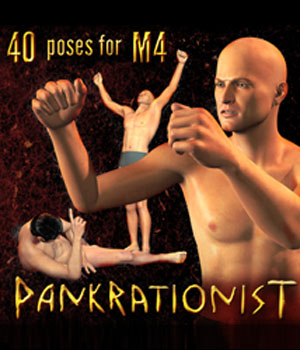 Pankrationist for M4 3D Figure Assets gmm2
