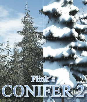 Flinks Conifer 2 Themed Props/Scenes/Architecture Flink