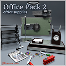 Office Pack 2 3D Models tuketama