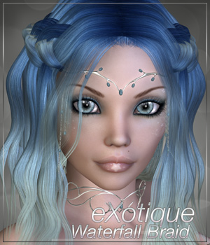 eXotique Waterfall Braid 3D Figure Essentials Anagord