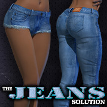 Exnem Jeans Solution 3D Figure Assets exnem