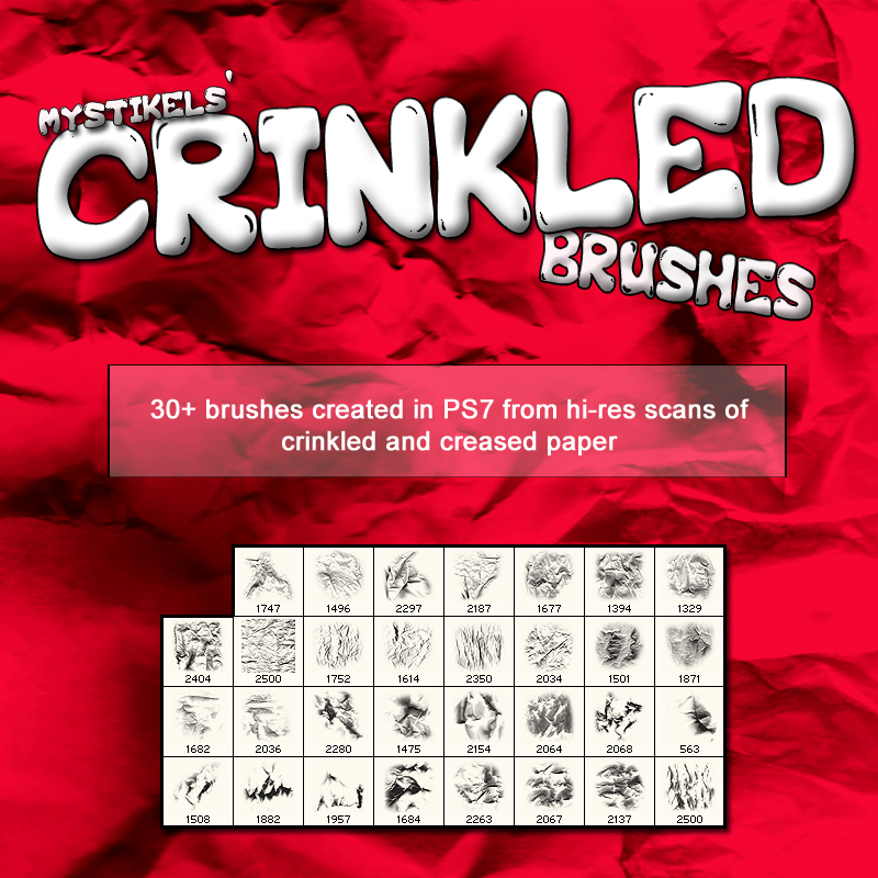 Crinkled Brushes