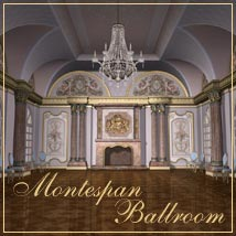 Montespan Ballroom Props/Scenes/Architecture Software Themed GrayCloudDesign