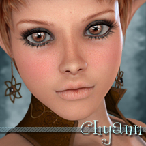 MDD Chyann for V4.2 3D Figure Essentials Maddelirium