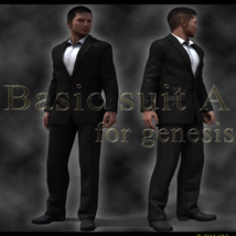 basic_suit A 3D Figure Essentials 3D Models kang1hyun