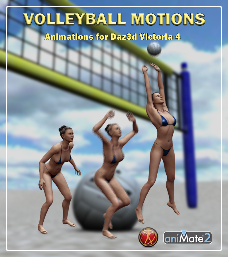 V4 Volleyball Motions