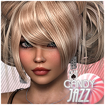 Candy Jazz 3D Figure Assets Sveva