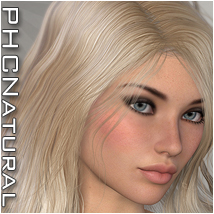 PHCNatural : Ciara Hair Software P3D-Art