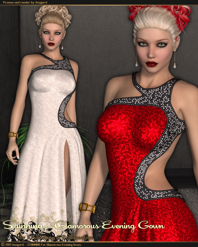 STUNNING for Glamorous Evening Gown