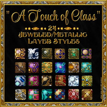 A Touch of Class Layer Styles 2D 3D Models fractalartist01