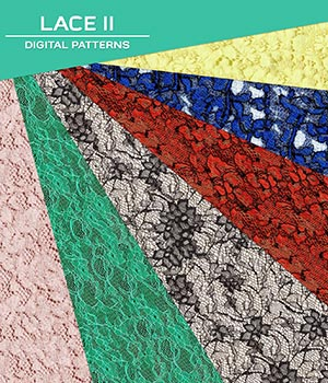 Digital Patterns - Lace II 2D Graphics Atenais