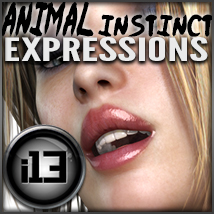 i13 animal instinct EXPRESSIONS 3D Figure Essentials 3D Models ironman13